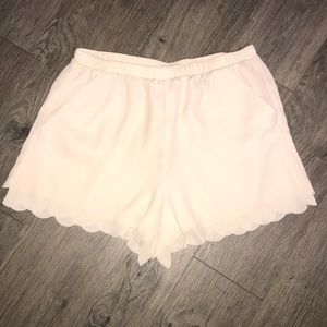LC Lauren Conrad, Fully Lined Polyester Shorts